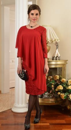 Арт. 7244 платье из кружева и шифона Salvi от производителя Salvi